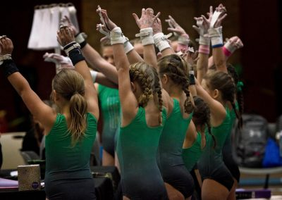 Salute Girls!