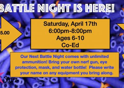 nerf battle night 2